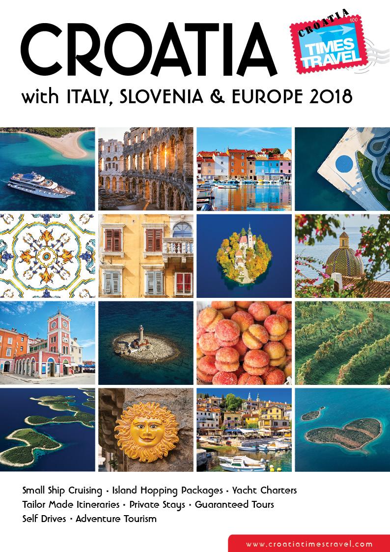 croatia  u0026 europe holiday travel brochures